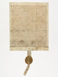 Magna Carta of 1215, from National Archives Catalog